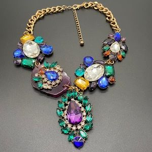 Tasha | Gorgeous Bling Jeweled Statement necklace